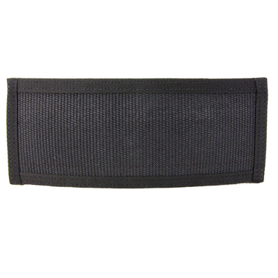 Traditional Bifold Wallet Black Fire Hose