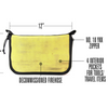Fire Hose Zippered Pouch - Large Bag