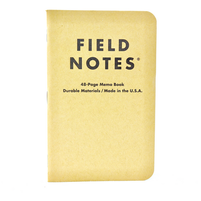 Field Notes Notebook Kraft Graph Single