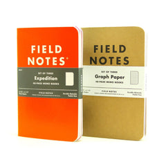Field notes, waterproof notebook, made in the usa