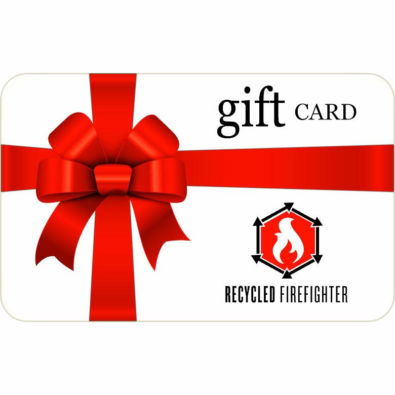 Gift Card for Recycled Firefighter
