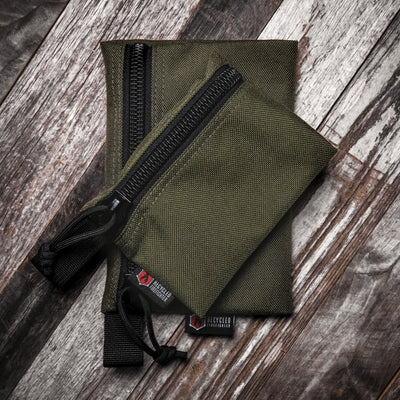 Flat Zippered Gear Pouch Medium