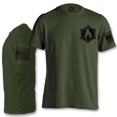 Short Sleeve T Shirt Small / Olive Drab Apparel