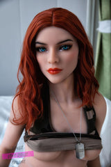 Athletic Slim Redhead Sex Doll - 158Cm Vivian