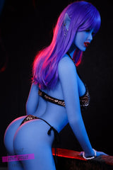 Elva Hottest Blue Elf Sex Doll 158cm