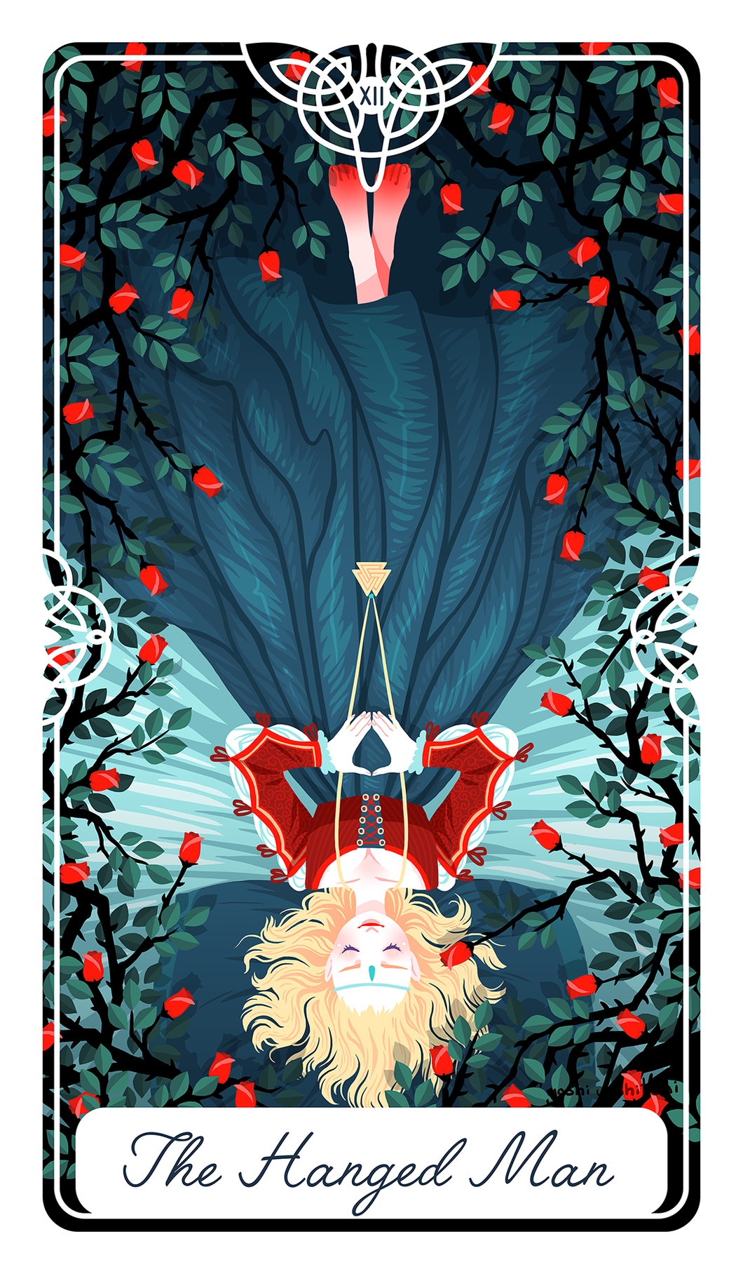 The Hanged Man Tarot Print