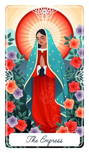 The Empress Tarot Print