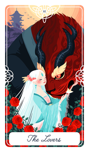 The Lovers Tarot Print