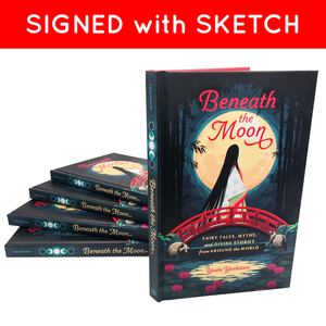 Beneath the Moon Signed Book