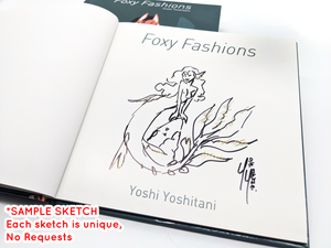 Foxy Fashions Book SIGNED