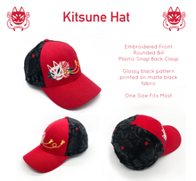 Load image into Gallery viewer, Kitsune Hat