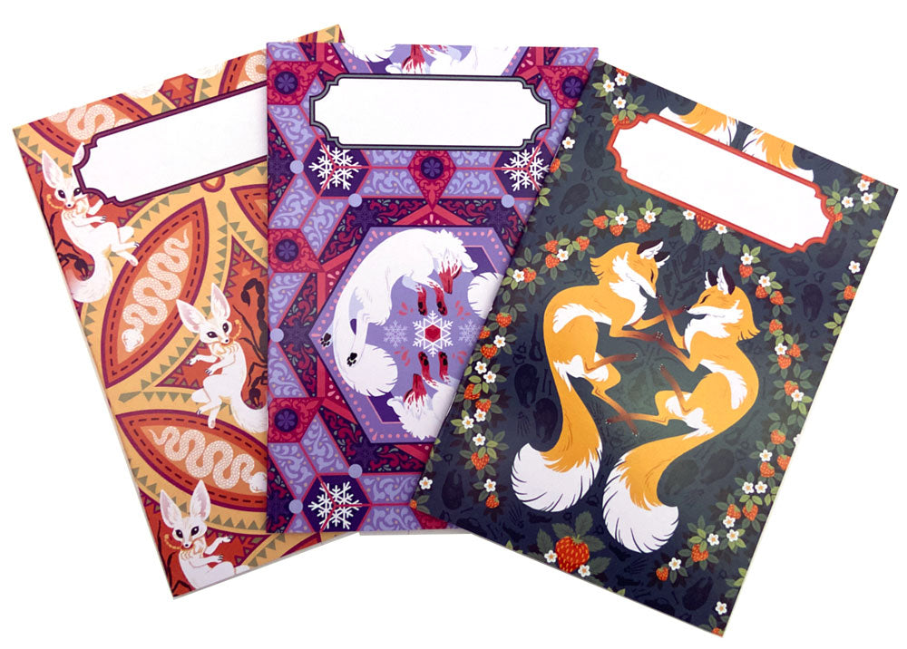 Fox Notebook Set