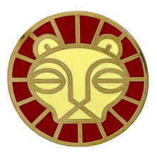 Load image into Gallery viewer, Lion Animal Mask Enamel Pin