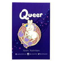 Load image into Gallery viewer, Unicorn Queer Enamel Pin