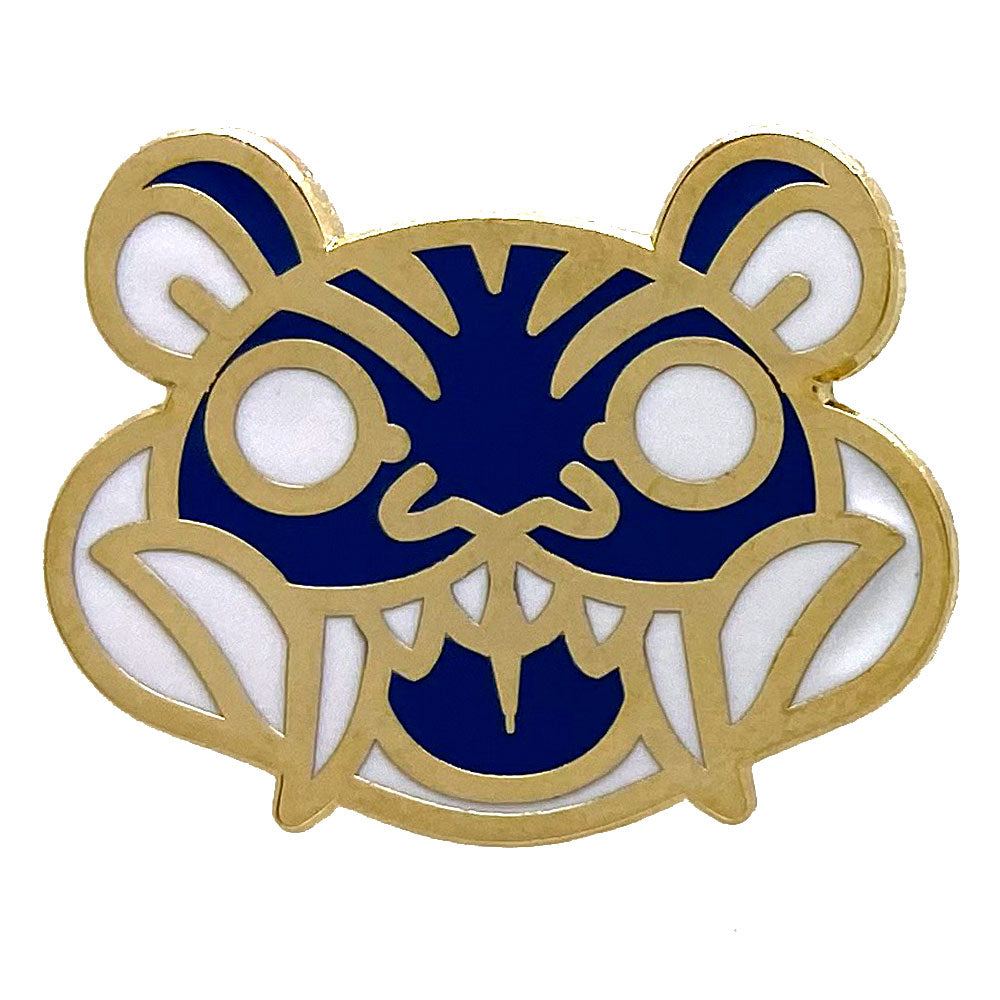 Tiger Animal Mask Enamel Pin