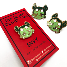 Load image into Gallery viewer, Seven Deadly Sins: Envy Enamel Pin