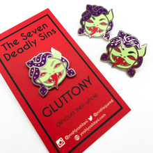 Load image into Gallery viewer, Seven Deadly Sins: Gluttony Enamel Pin