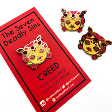 Load image into Gallery viewer, Seven Deadly Sins: Greed Enamel Pin