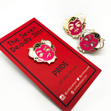 Load image into Gallery viewer, Seven Deadly Sins: Pride Enamel Pin