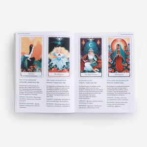 PREORDER: Tarot of the Divine: A Deck and Guidebook Inspired by Deities, Folklore, and Fairy Tales from Around the World: Tarot Deck Only