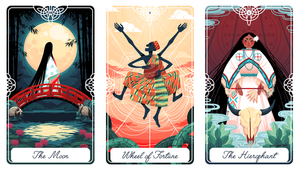 Fairytale Tarot: Major Arcana Postcards