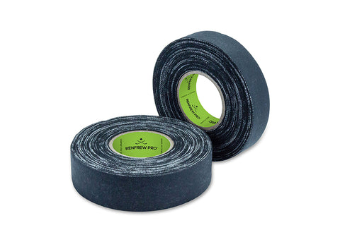 Friction Hockey Tape, Black, 60 ft, 1 Roll (Width Choice) - Primo Hockey
