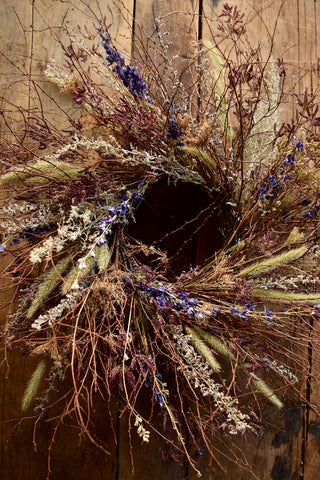 A Meadow Walk in Early Spring - Wreath