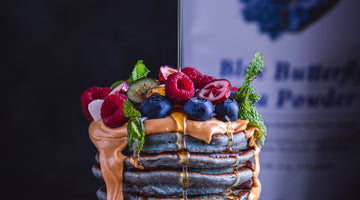 Butterfly Pea Flower Pancakes