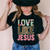 Love like Jesus floral