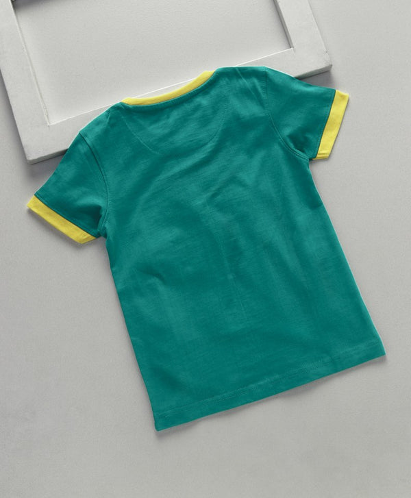 Royal Brats T-shirts Green Base With Printed Top
