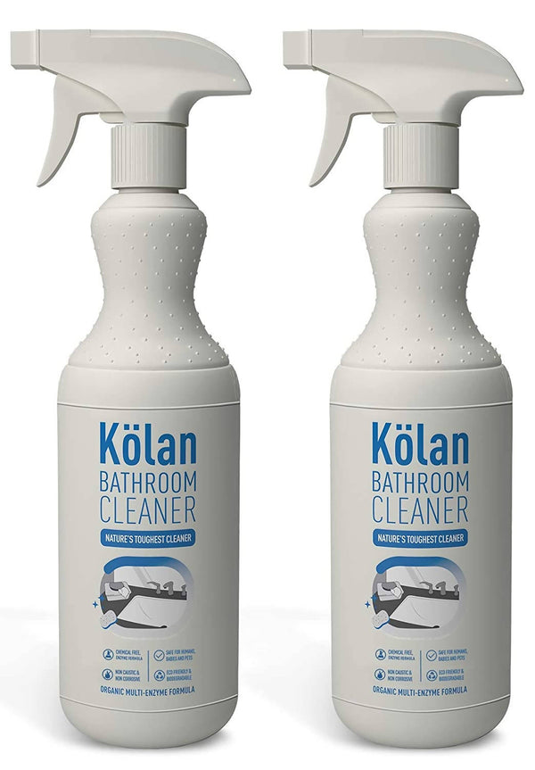 Kolan Organic Bathroom Cleaner 700 ml (Suitable for all Surfaces Including Marble, Wood, Stainless Steel and Glass)
