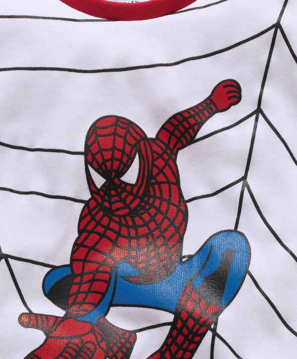 Royal Brats T-shirts White Base With Spiderman with Web