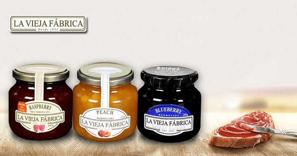 La Vieja Fabrica Pineapple Mermelada Jam Bottle, 350gm