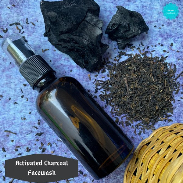 Activated Charcoal Facewash (60 ml)
