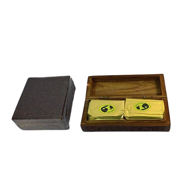 Carved Darjeeling Tea box (200 Grams)