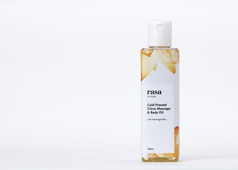 Cold Pressed Citrus Massage & Body Oil-200ml