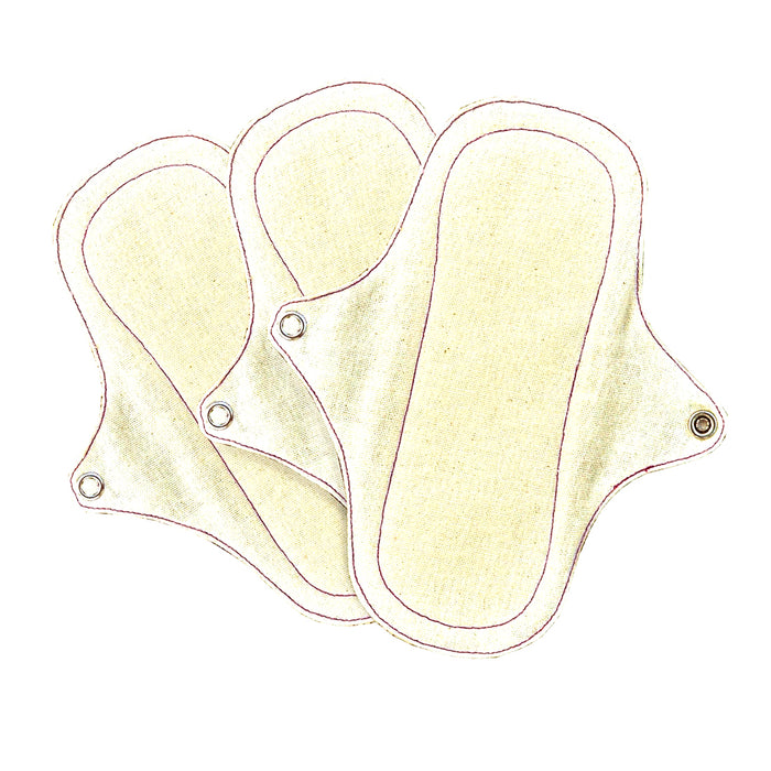 Eco Femme Organic Panty Liner Without Pul Leak Proof Layer - Pack Of 3
