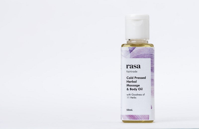 Cold Pressed Herbal Massage & Body Oil-50ml