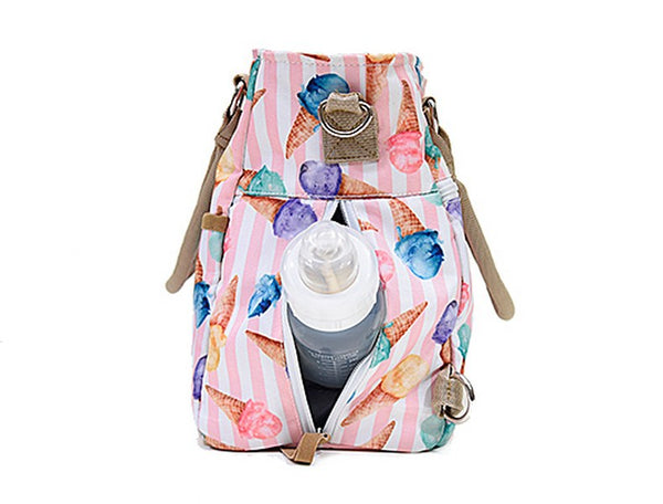 Ice Cream Pocket Diaper Bag