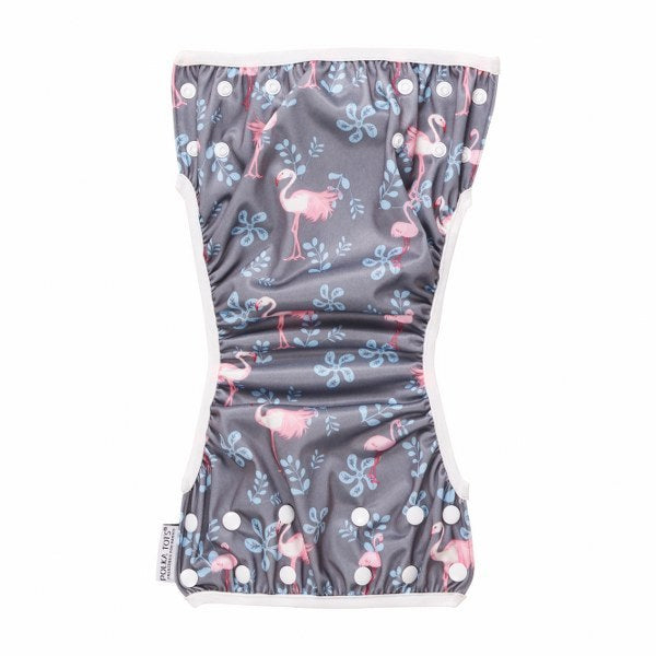 Reusable Swim Diaper Flamingo Design Swim Costume