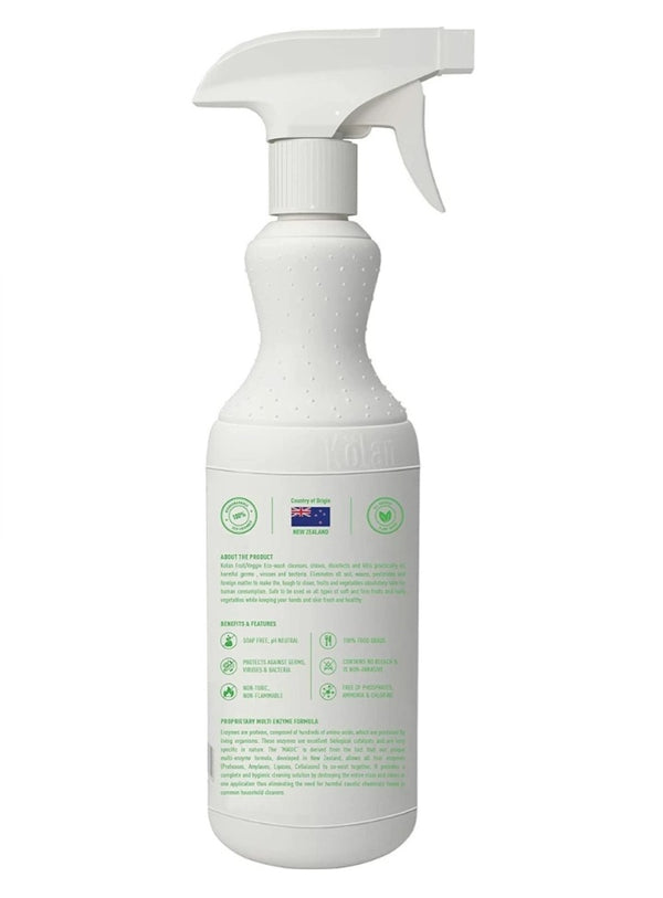 Kolan Organic Enzyme based Biodegradable fruit/veggie eco-wash