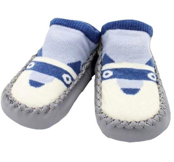 Organic Shoe Socks (Blue Wolf)