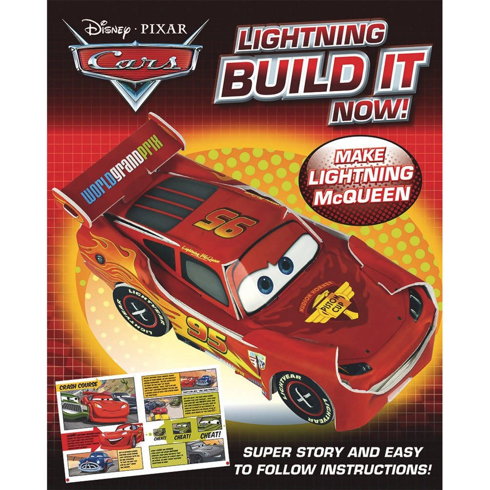 Disney Pixar Cars Lightning Build It Now