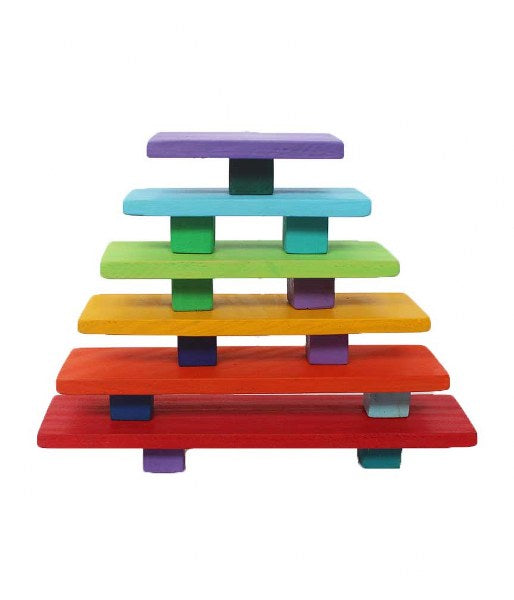 7 Piece Rainbow Boards