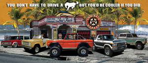 Dream Garage Bronco 55x24-Banner