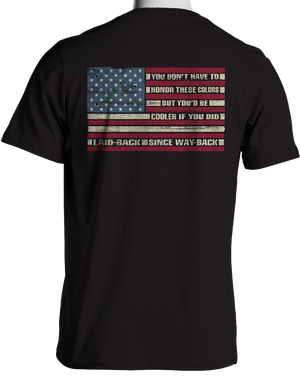 Cooler US Flag-Chill T-Shirt