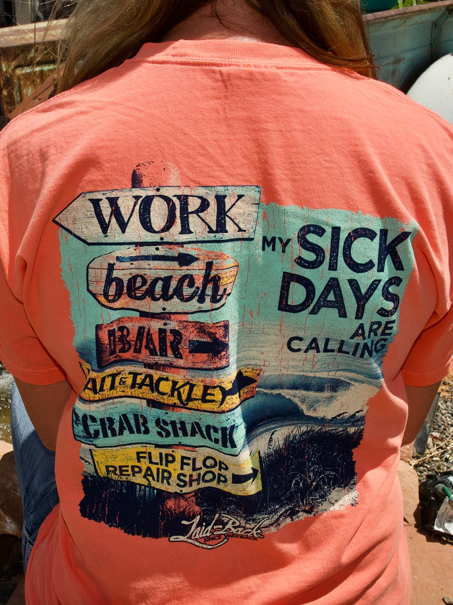 Beach Signs-Chill T-Shirt