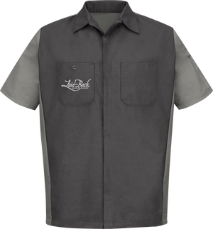 55 Gasser-2 Tone Mechanic Shirt