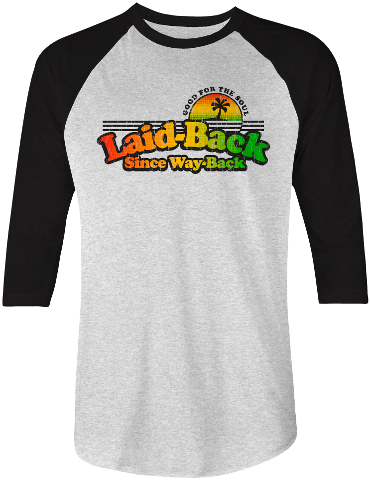 Happy Days Reggae-Raglan Shirt