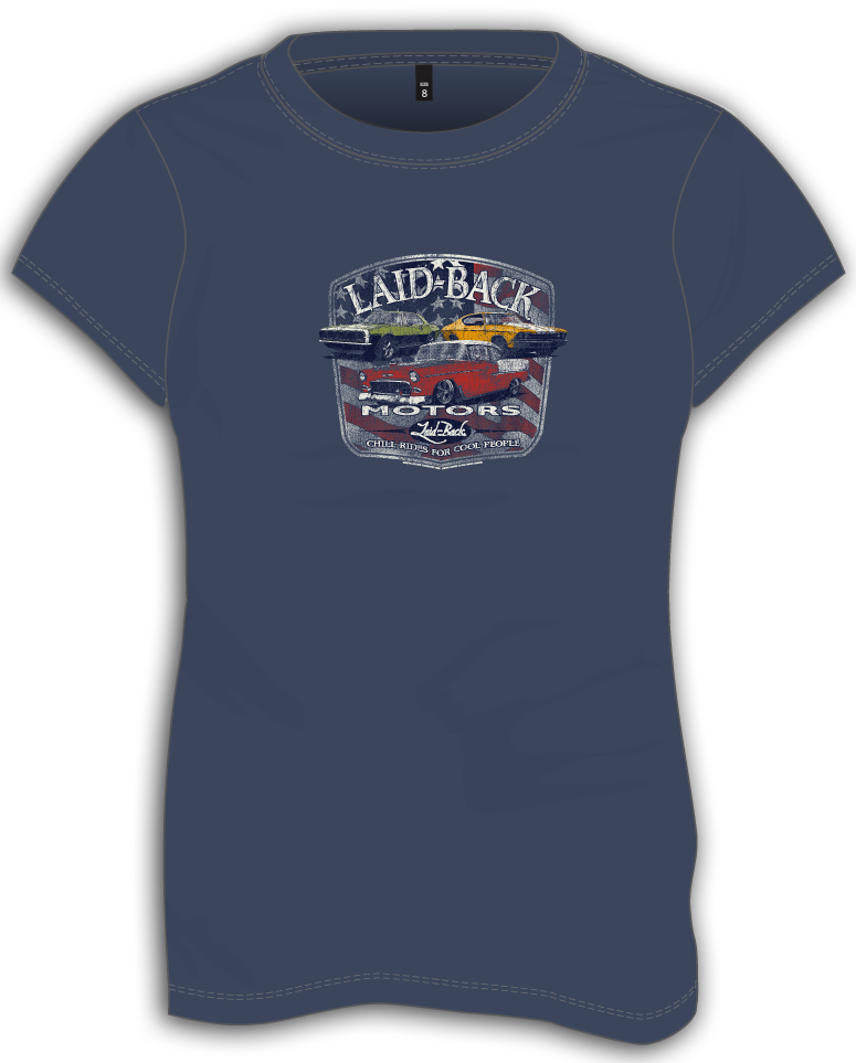 Fulton Motors Chevy-Ladies T-Shirt